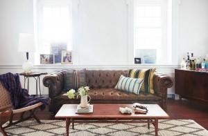 josie moran's farmhouse living room
