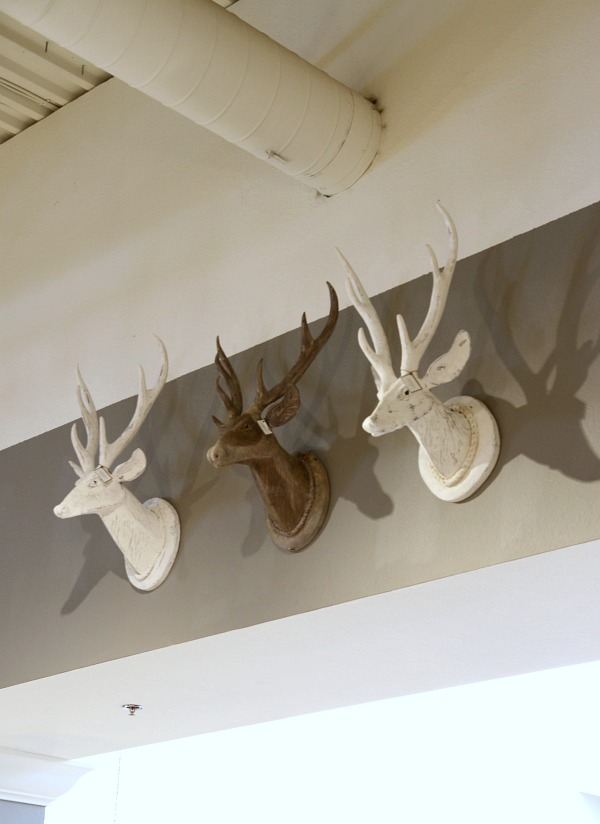 arhaus deer heads