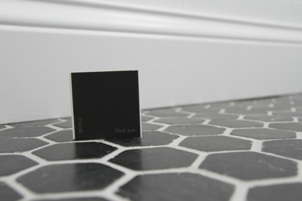 black jack paint swatch