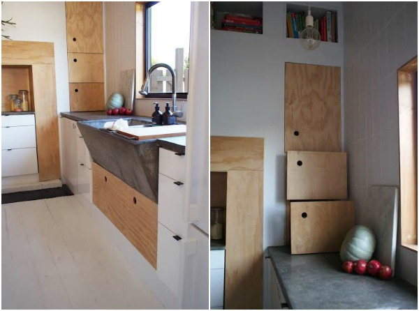 plywood ikea kitchen 4