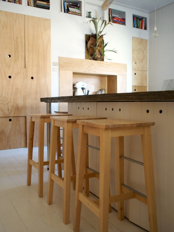 plywood ikea kitchen 5
