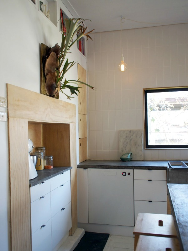 plywood ikea kitchen 6