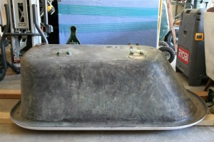 unpainted tub
