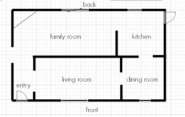 modern family reno floor plan before