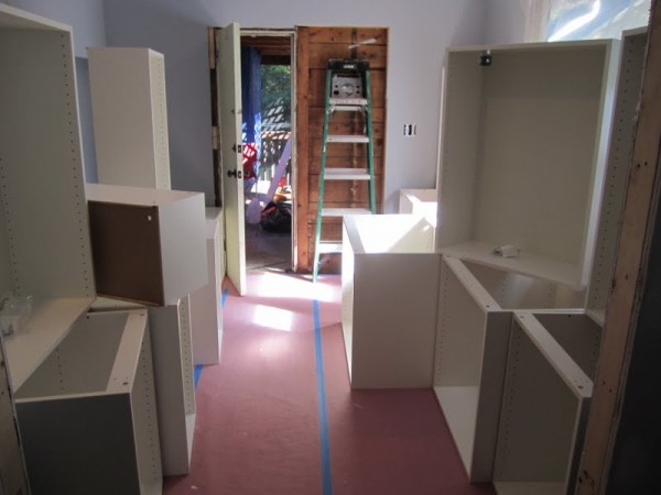 ikea boxes assembled