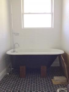 tub cradle base 1