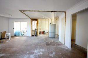 gold coast ikea kitchen progress 1