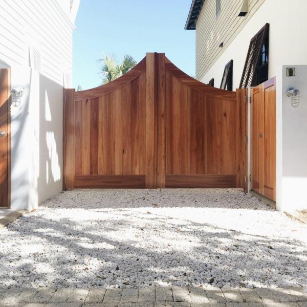 rosemary beach driveway gate