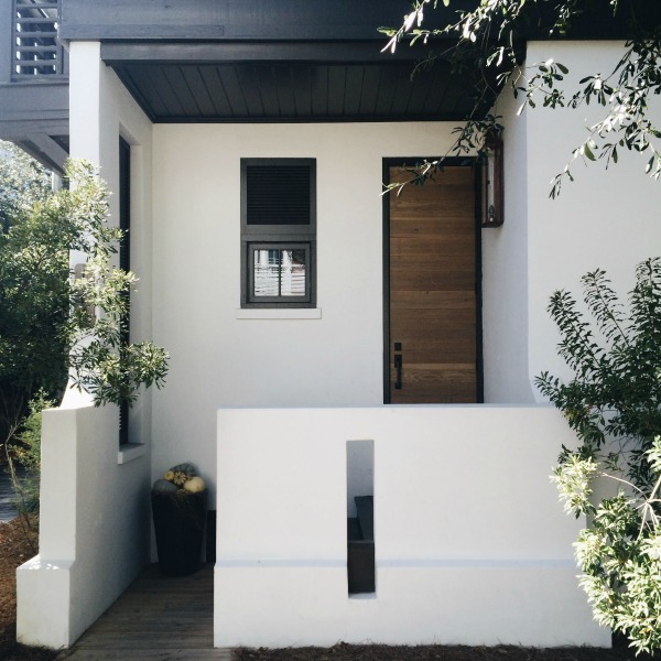 rosemary beach modern porch