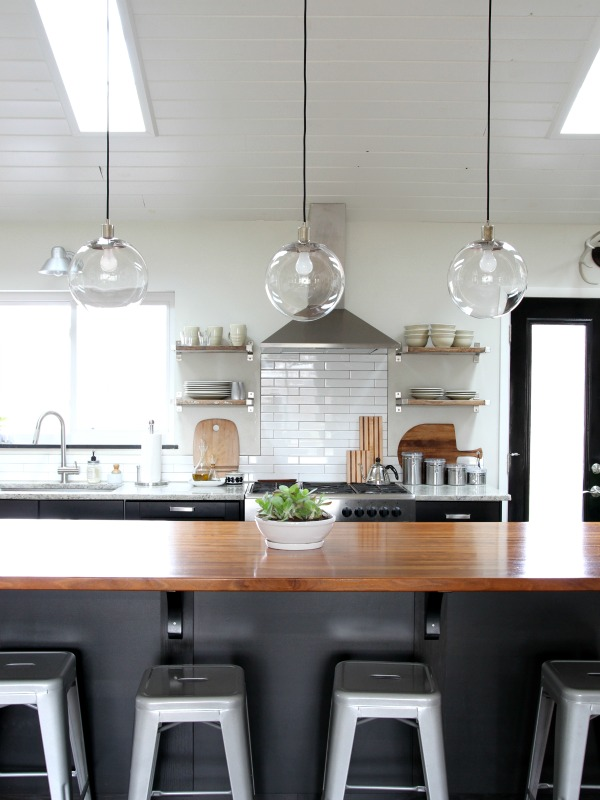 Light over kitchen island for Over island light fixtures