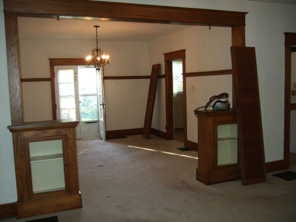indiana dining room before