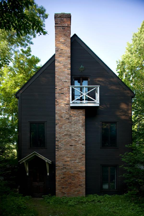 modern rustic cabin 1