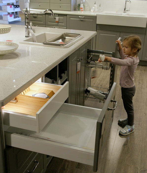 Ikea Sektion Kitchen Sink Cabinet Drawers