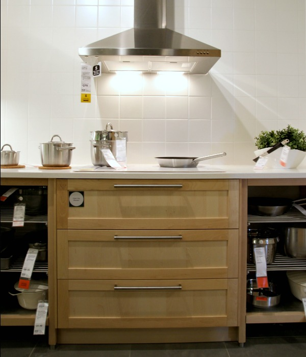 Ikea Kitchen Birch house*tweaking