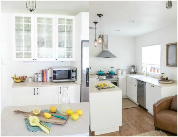 LA ikea kitchen after 11