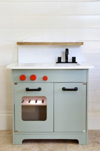 play kitchen oven light