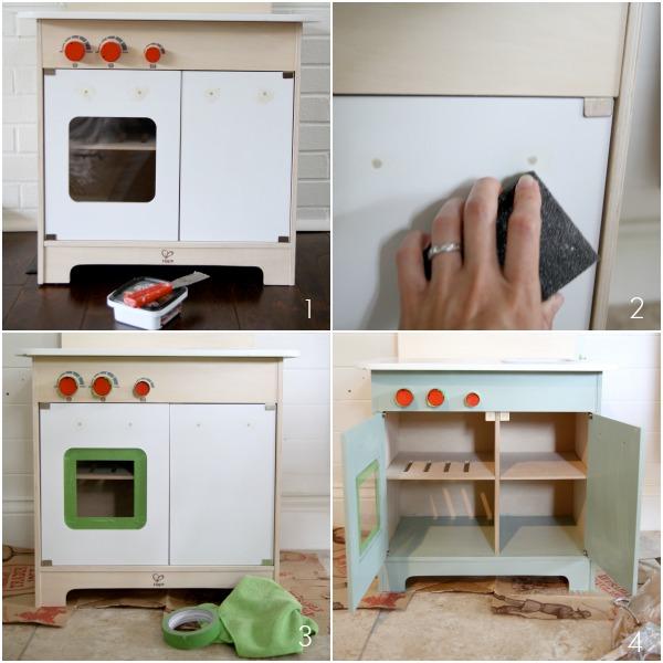 play kitchen steps 1
