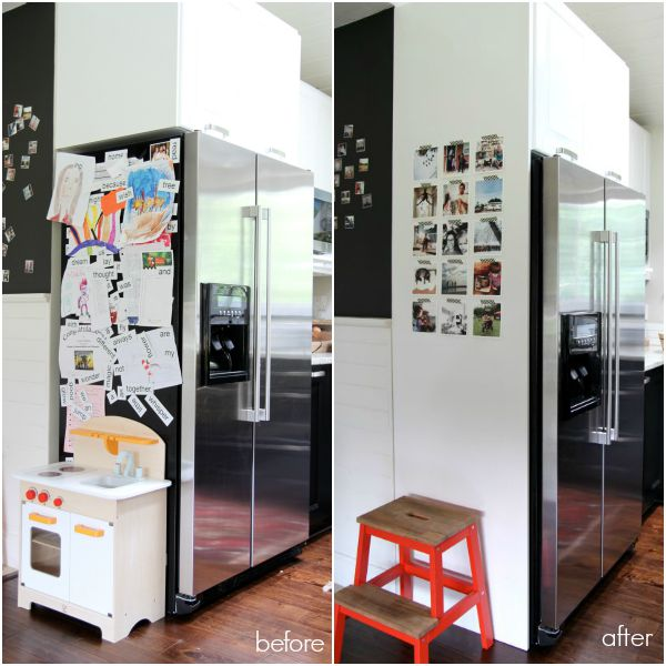 Fridge Before After
