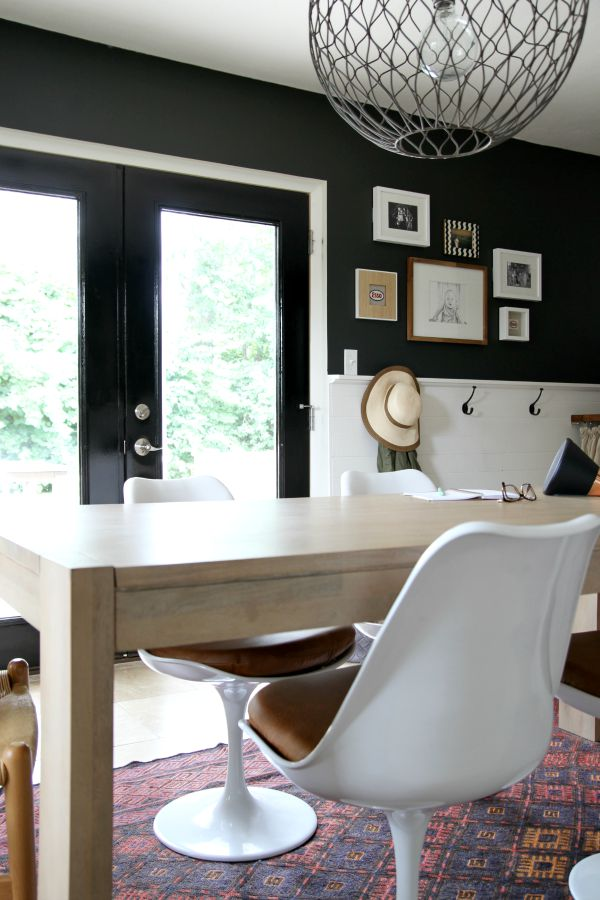 mudroom doors black 4