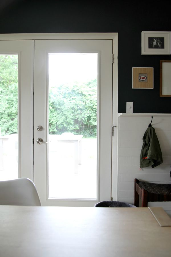 mudroom doors white