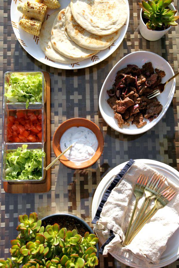 outdoor dinner 6