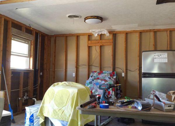 north tx ikea kitchen progress 1