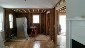 boston ikea kitchen progress 1