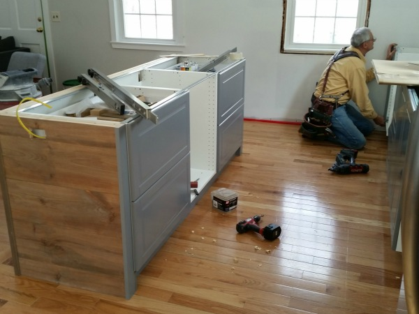 boston ikea kitchen progress 4
