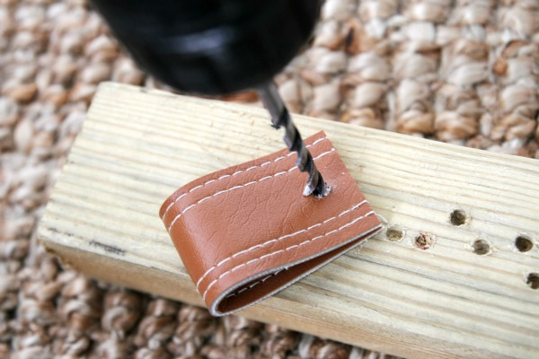 DIY leather pull 4