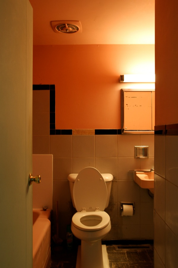flip house hallway bathroom
