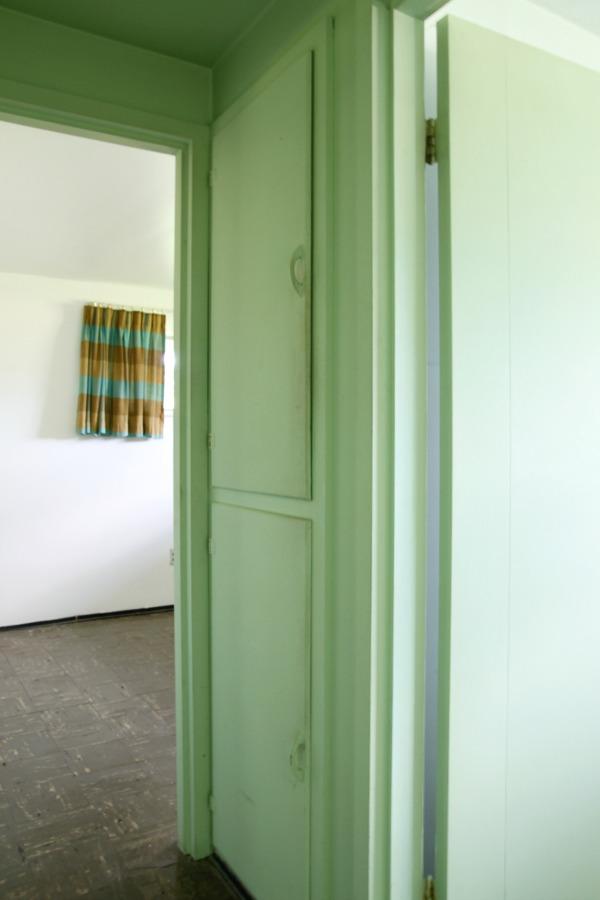 flip house linen closet