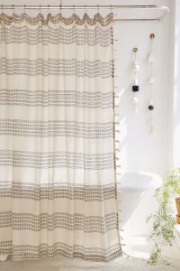 UO shower curtain