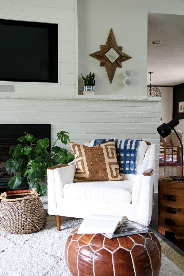 bolga basket living room