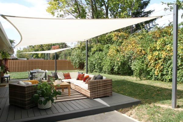 Shade Sail Diy 1